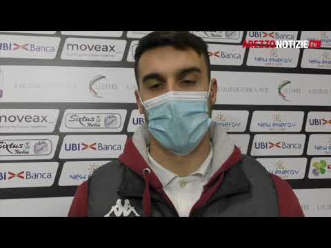 Arezzo-Feralpi Salò 2-3, il commento di Alessandro Piu