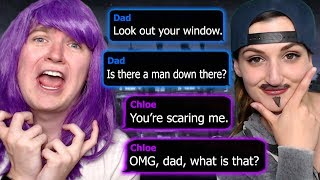 FUNNIEST GENDER SWAP ROLEPLAY EVER |  The Watcher Text Story (Part 1)