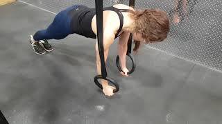 Kamloops Chiropractor | Movement Demo | Scapular Push-ups on Rings
