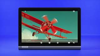 YouTube Video VaayHboB8dk for Product Lenovo Yoga Smart Tab Tablet by Company Lenovo in Industry Tablets