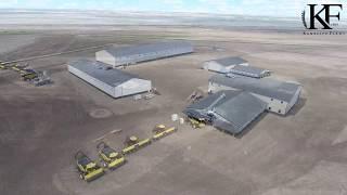 A new home. KF Kambeitz Farms. Saskatchewan, Canada.