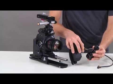 Wooden Camera Canon C100 | C300 | C500 Handgrip Relocator