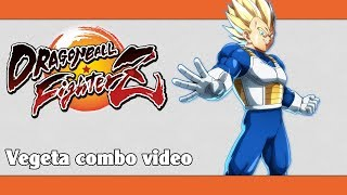 DBFZ: Vegeta (Super Saiyan) combo video