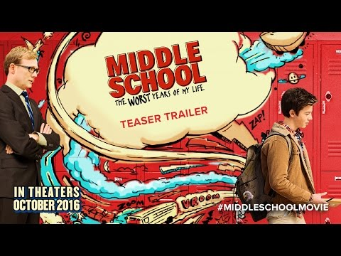 MIDDLE SCHOOL: The Worst Years of My Life - Teaser Movie Trailer HD CBSFilms