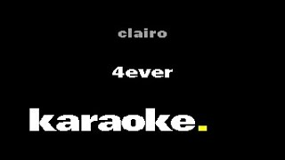 Clairo   4EVER (Karaoke)