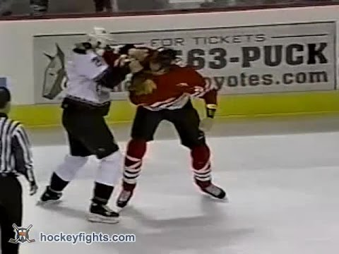 Darcy Hordichuk vs. Jason Strudwick