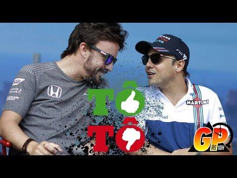 GP às 10: Massa não merece indiferença. Alonso merece um carro perfeito
