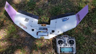 Completely destroying A FPV Fixed-Wing in 1 minute oops....