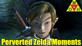 PERVERTED and BIZARRE Moments in The Legend of Zelda Series