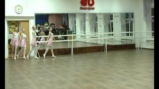 Ансамбль танца «Виктория» в ходе открытой тренировки подвёл итоги прошедшего семестра