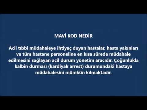 Türkeli Devlet Hastanesi Mavi Kod Tatbikatı 2018