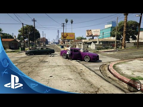 Grand Theft Auto V Game Ps4 Playstation