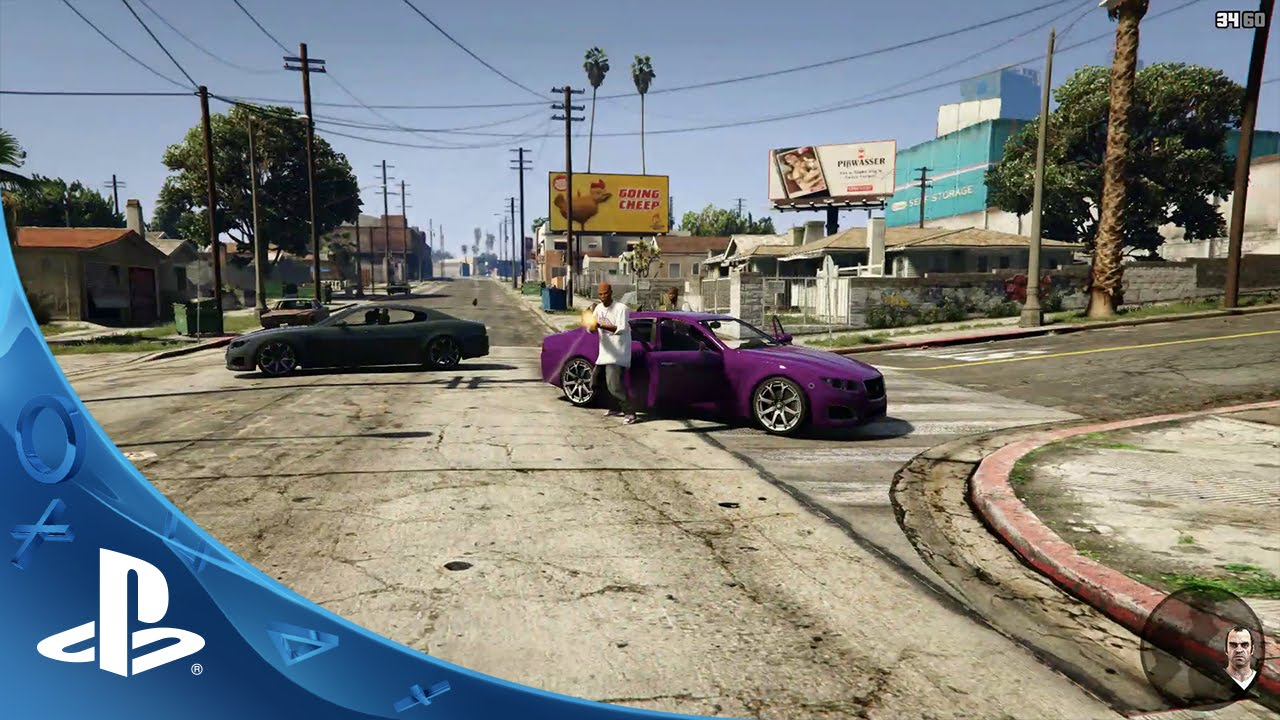 Grand Theft Auto V on PS4: Introducing All-New First Person Mode