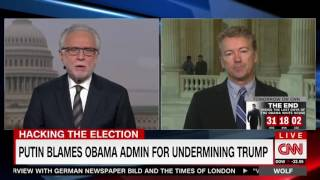 Rand Paul Defends Donald Trump on Head of CIA Attacking Trump