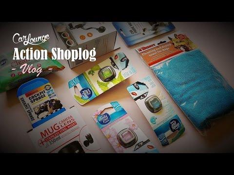 VLOG - Action shoplog auto accessoires 2017