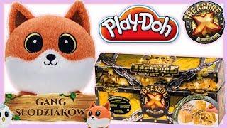 Play Doh & Gang Słodziaków Lis Lucek & Złoty Skarb Treasure X • bajki