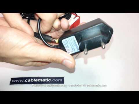 Sirena inalámbrica con flash y fuente de alimentación distribuido por CABLEMATIC ®