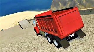 BeamNG Drive - КРУТОЕ ПИКЕ!!! Тачки прыгают и ломаются! Игра про машины и аварии!