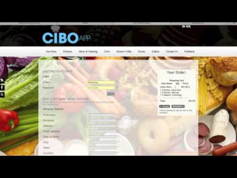 Video of POS Cibo