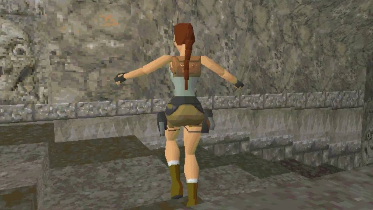 Here's Some Alpha Footage From The First Tomb Raider