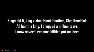 Kendrick Lamar Black Panther Lyrics 免费在线视频最佳电影电视节目