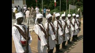 preview picture of video 'Commémoration du 70e anniversaire de la France libre, N'Djamena le 26 octobre 2010'