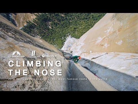 CLIMBING THE NOSE