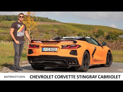 Chevrolet Corvette C8 Stingray: V8-Mittelmotor im Cabrio! Erster Test | Review | Sound | 2021