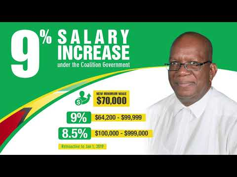 Tax-Free Salary Increases Retroactive from Jan. 1, 2019