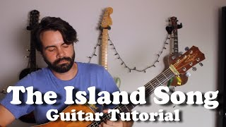 The Zac Brown Band - Island Song - Guitar Tutorial with tabs, lyrics, play-along