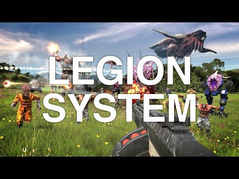 Serious Sam 4 - Legion System de Serious Sam 4: Planet Badass