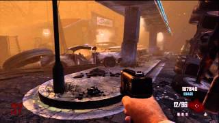 Black Ops 2 Zombies: Bus Depot Rounds 1-46 Full Gameplay - High Round Strategy