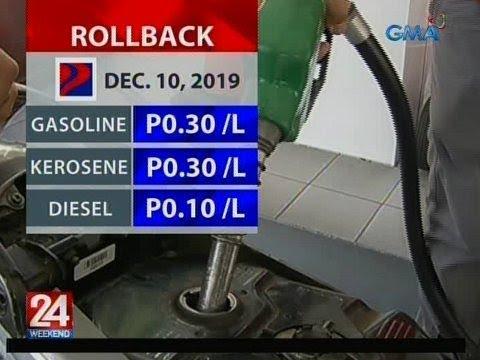 [GMA]  24 Oras: Rollback Dec. 10, 2019