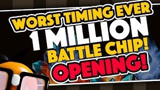 Worst Timing Ever: 1 Million Battlechip Opening #3