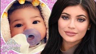 Kylie Jenner reveals her daughter Stormi Webster on Snap Chat
