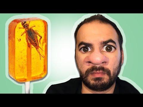ÇARKI ÇEVİR - Gelen Böcekli Lolipopu Ye - Akrepli, Çekirgeli, Kurtçuklu