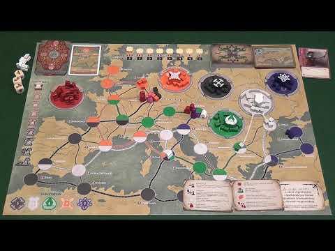 Pandemic Róma bukása társasjáték - d3meeples
