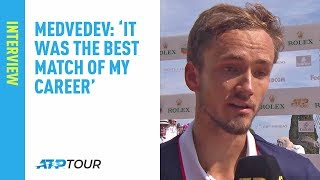 Medvedev: 'It Was The Best Match Of My Career' | Monte-Carlo 2019