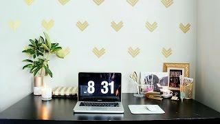Dekorasi Glamor untuk Ruang Kerja di Rumah