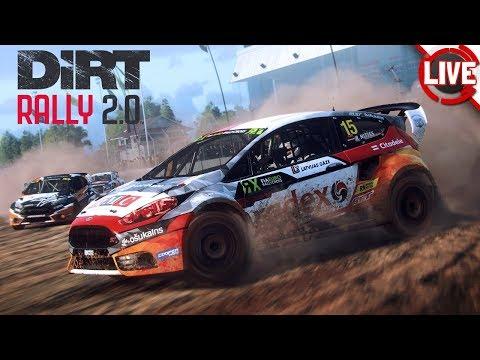DiRT RALLY 2.0 - Rally-Action mit der Crew (Abgefahren!, P1TV,...) - DiRT Rally 2.0 Livestream