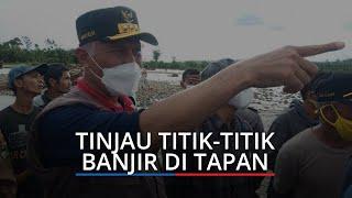 Atasi Banjir, Gubernur Sumbar Mahyeldi Segera Pasang Bronjong & Geobag di Sungai Batang Tapan