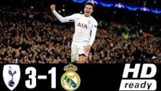 Tottenham Hotspur Vs Real Madrid 3-1 Extended Highlights & Goals - 01 NOV 2017