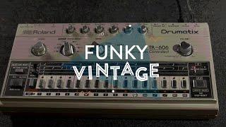 Funky Vintage: Roland TR-606 Drumatix Analog Drum Machine