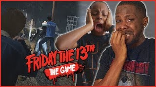 OOPS! I ACCIDENTALLY SHOT MY LITTLE BROTHER! - Friday The 13th Gameplay Ep.10