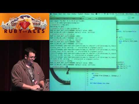 Ruby on Ales 2014 – Writing Games with Ruby