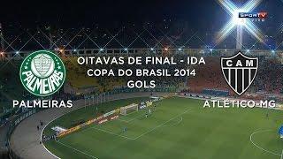 Gol - Palmeiras-SP 0 X 1 Atlético-MG - Copa Do Brasil 2014 - 27/08/2014