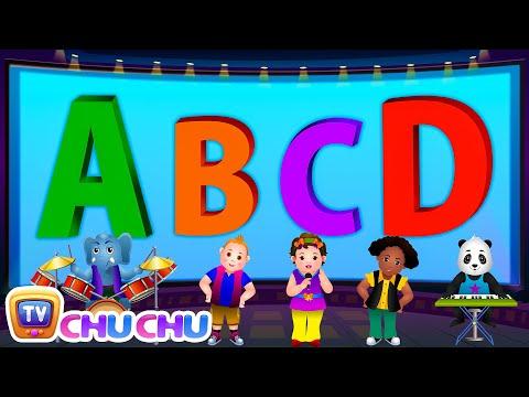 ABCD Alphabet Song - Nursery Rhymes Karaoke Songs For Children | ChuChu TV Rock 'n' Roll