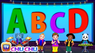 ABCD Alphabet Song - Nursery Rhymes Karaoke Songs For Children | ChuChu TV Rock 'n' Roll