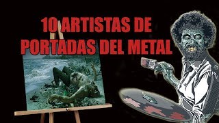 Top 10: Artistas De Portadas De Discos De Metal