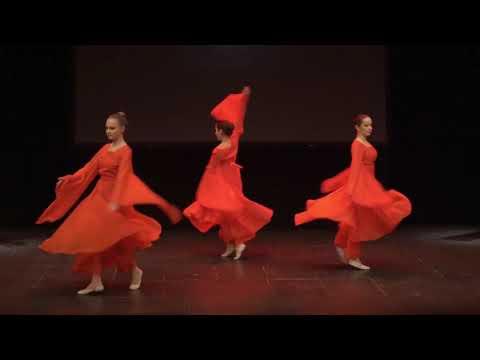 """Baletska numera ,,Ples žada"""" u izvođenju baletskog studija Pirueta povodom proslave kineske Nove godine"""